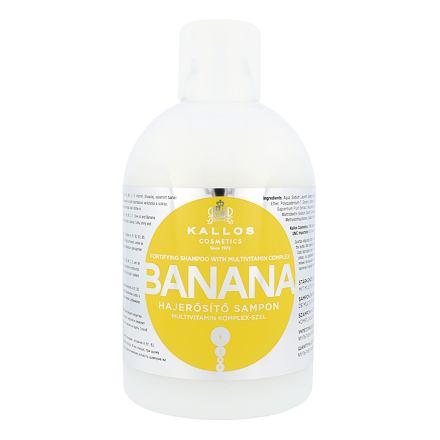 Kallos Cosmetics Banana hydratační šampon pro suché vlasy 1000 ml pro ženy