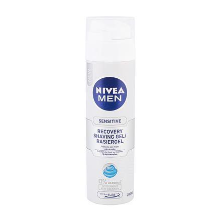 Nivea Men Sensitive Recovery gel na holení bez alkoholu 200 ml pro muže
