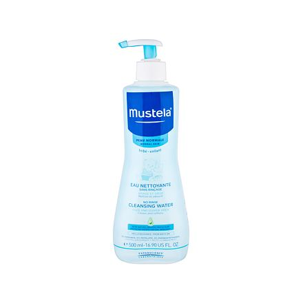 Mustela Bébé PhysiObébé Cleansing Water jemná micelární voda pro čištění dětské pokožky 500 ml pro d