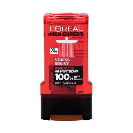 L´Oréal Paris Men Expert Stress Resist zklidňující sprchový gel 300 ml pro muže