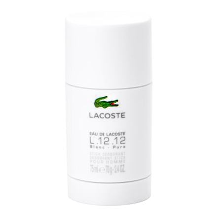 Lacoste Eau de Lacoste L.12.12 Blanc deostick bez obsahu hliníku 75 ml pro muže