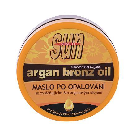 Vivaco Sun Argan Bronz Oil poopalovací máslo s arganovým olejem 200 ml pro ženy