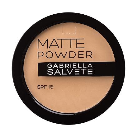 Gabriella Salvete Matte Powder SPF15 matující pudr 8 g odstín 02