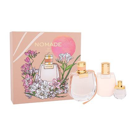Chloé Nomade sada parfémovaná voda 75 ml + parfémovaná voda 5 ml + tělové mléko 100 ml pro ženy