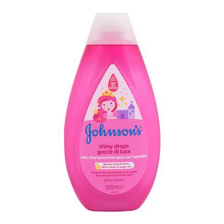 Johnson´s Kids Shiny Drops jemný dětský šampon 500 ml pro děti