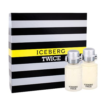 Iceberg Twice sada toaletní voda 75 ml + voda po holení 75 ml pro muže