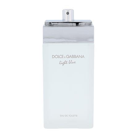 Dolce&Gabbana Light Blue toaletní voda 100 ml Tester pro ženy