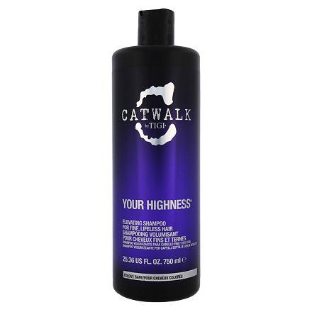 Tigi Catwalk Your Highness šampon pro objem vlasů 750 ml pro ženy