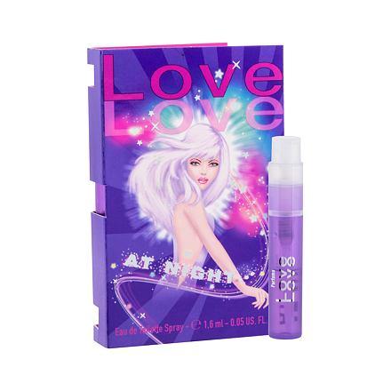 Love Love At Night toaletní voda 1,6 ml pro ženy