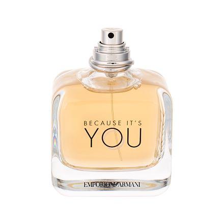 Giorgio Armani Emporio Armani Because It´s You parfémovaná voda 100 ml Tester pro ženy
