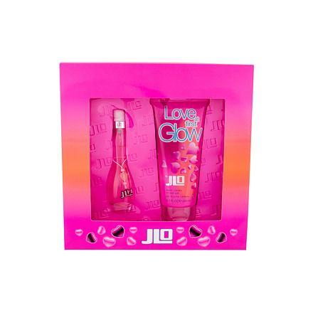 Jennifer Lopez Love At First Glow sada toaletní voda 30 ml + sprchový gel 200 ml pro ženy
