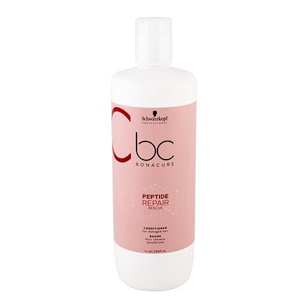 Schwarzkopf BC Bonacure Peptide Repair Rescue kondicionér pro poškozené vlasy 1000 ml pro ženy