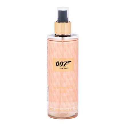 James Bond 007 James Bond 007 For Women Mysterious Rose tělový sprej 250 ml pro ženy