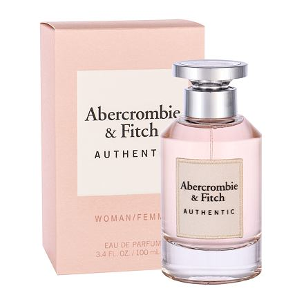 Abercrombie & Fitch Authentic parfémovaná voda 100 ml pro ženy