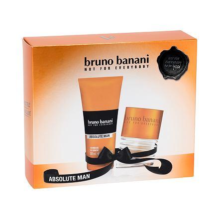 Bruno Banani Absolute Man sada toaletní voda 30 ml + sprchový gel 50 ml pro muže