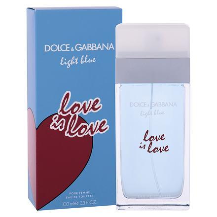 Dolce&Gabbana Light Blue Love Is Love toaletní voda 100 ml pro ženy