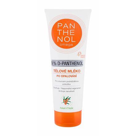 Panthenol Omega 9% D-Panthenol After-Sun Lotion Sea Buckthorn zklidňující tělové mléko po opalování 250 ml
