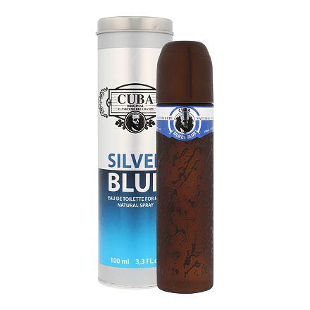 Cuba Silver Blue toaletní voda 100 ml pro muže