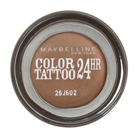 Maybelline Color Tattoo 24H krémové oční stíny 4 g odstín 70 Metallic Pomegranate pro ženy