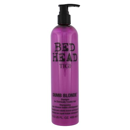 Tigi Bed Head Dumb Blonde šampon pro poškozené vlasy 400 ml pro ženy