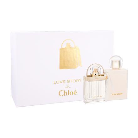 Chloe Love Story sada parfémovaná voda 50 ml + tělové mléko 100 ml pro ženy