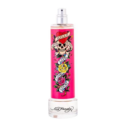 Christian Audigier Ed Hardy Woman parfémovaná voda 100 ml Tester pro ženy