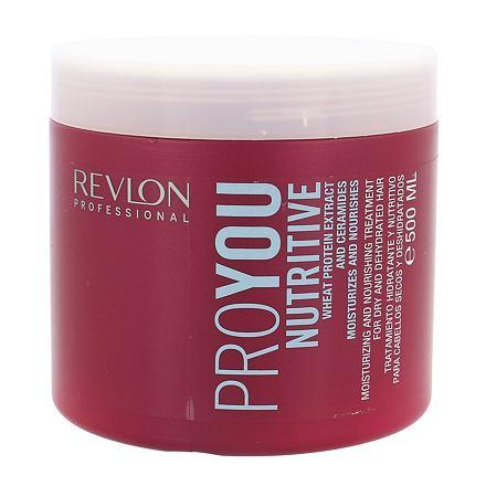 Revlon Professional ProYou Nutritive maska na suché vlasy 500 ml pro ženy