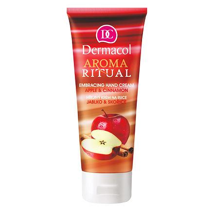 Dermacol Aroma Ritual Apple & Cinnamon hřejivý krém na ruce 100 ml pro ženy