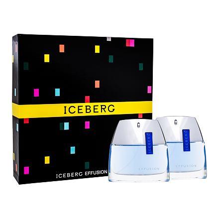 Iceberg Effusion Man sada toaletní voda 75 ml + voda po holení 75 ml pro muže