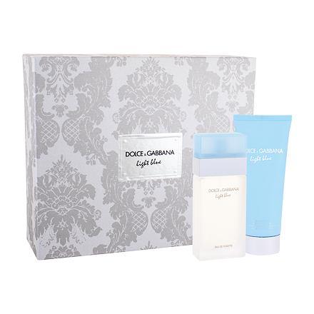 Dolce&Gabbana Light Blue sada toaletní voda 50 ml + tělový krém 100 ml pro ženy