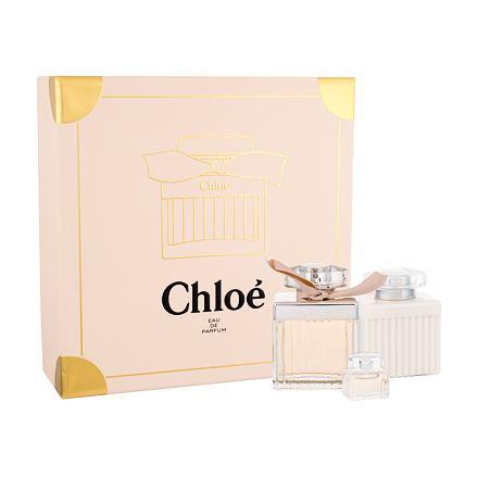 Chloe Chloe sada parfémovaná voda 75 ml + tělové mléko 100 ml + parfémovaná voda 5 ml pro že