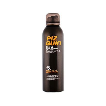PIZ BUIN Tan & Protect Tan Intensifying Sun Spray hydratační sprej na opalování SPF15 150 ml pro ženy
