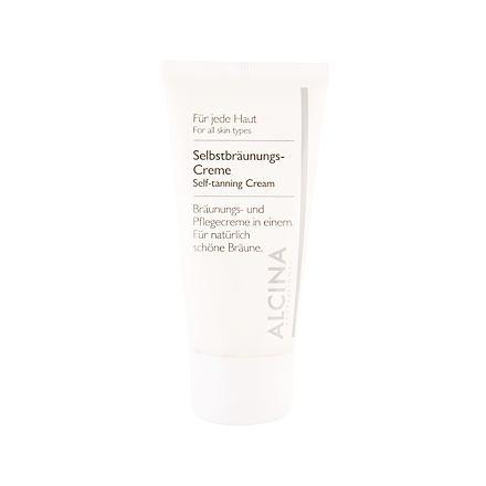 ALCINA Self-Tanning Cream samoopalovací krém pro přirozeně opálený vzhled 50 ml unisex