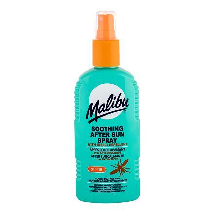 Malibu After Sun Insect Repellent zklidňující sprej po opalování s repelentem 200 ml unisex