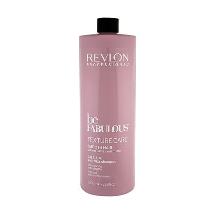 Revlon Professional Be Fabulous™ Texture Care Smooth Hair regenerační uhlazující šampon 1000 ml pro ženy