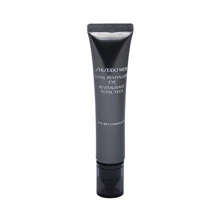 Shiseido MEN Total Revitalizer Eye liftingový oční krém proti vráskám 15 ml pro muže