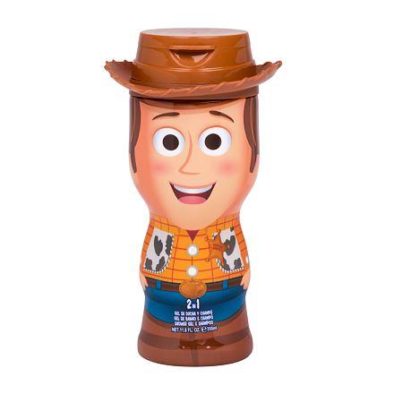 Disney Toy Story 4 Woody sprchový gel a šampon 2v1 350 ml pro děti
