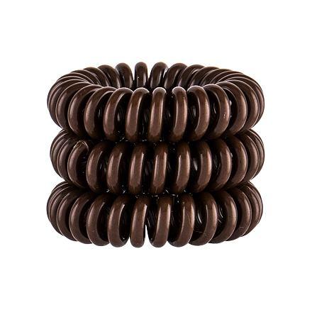 Invisibobble Power Hair Ring gumička na vlasy 3 ks odstín Pretzel Brown pro ženy