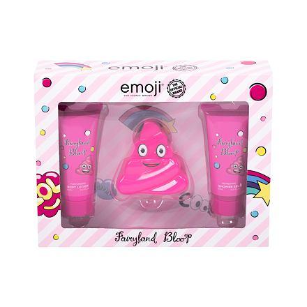 Emoji Fairyland Bloop sada parfémovaná voda 50 ml + sprchový gel 60 ml + tělové mléko 60 ml pro děti