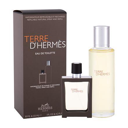 Hermes Terre d´Hermès sada toaletní voda 30 ml + toaletní voda náplň 125 ml pro muže
