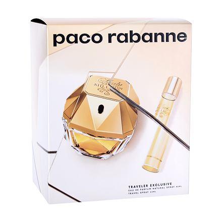 Paco Rabanne Lady Million sada parfémovaná voda 80 ml + parfémovaná voda 20 ml pro ženy