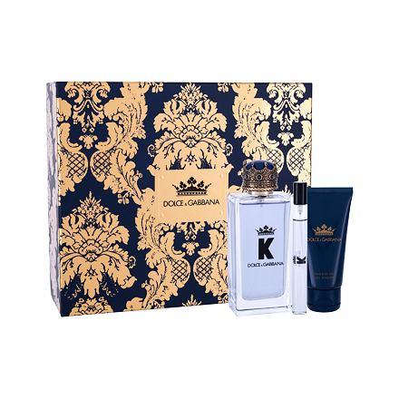 Dolce&Gabbana K sada toaletní voda 100 ml + sprchový gel 50 ml + toaletní voda 10 ml pro muže