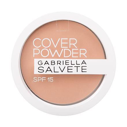 Gabriella Salvete Cover Powder SPF15 kompaktní pudr s vysoce krycím efektem 9 g odstín 02 Beige