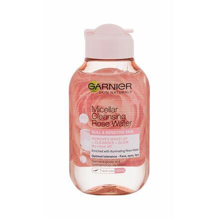 Garnier Skin Naturals Micellar Cleansing Rose Water čisticí a rozjasňující micelární voda 100 ml pro