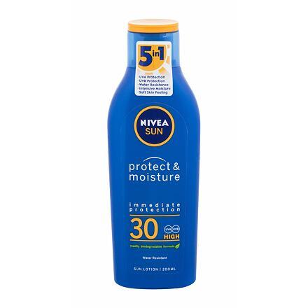 Nivea Sun Protect & Moisture SPF30 hydratační mléko na opalování 200 ml