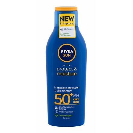 Nivea Sun Protect & Moisture SPF50+ hydratační mléko na opalování 200 ml