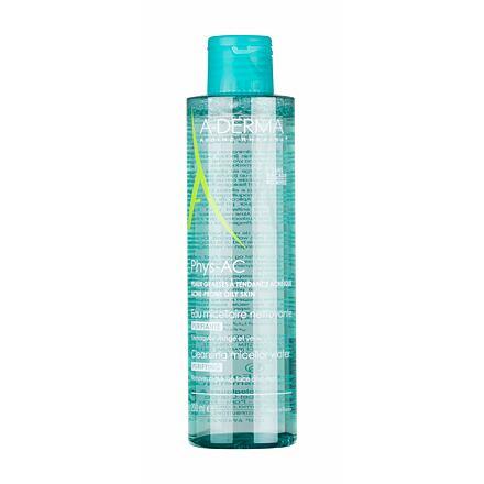 A-Derma Phys-AC Purifying Cleansing Micellar Water čisticí a odličovací micelární voda pro pleť se sklonem k akné 200 ml pro ženy