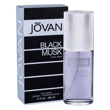 Jovan Musk Black kolínská voda 88 ml pro muže
