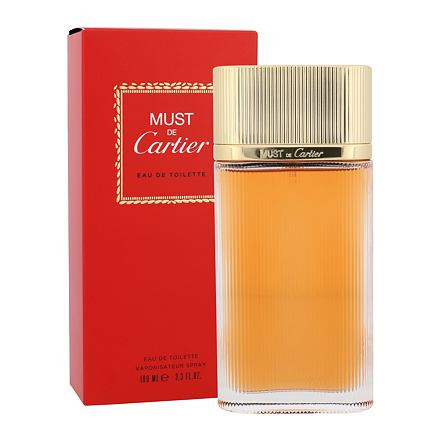 Cartier Must De Cartier Gold toaletní voda 100 ml pro ženy