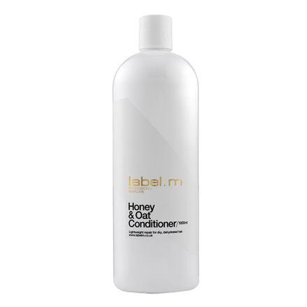 Label m Honey & Oat kondicionér pro obnovu suchých vlasů 1000 ml pro ženy